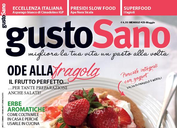 gustoSano 23 – maggio 2016