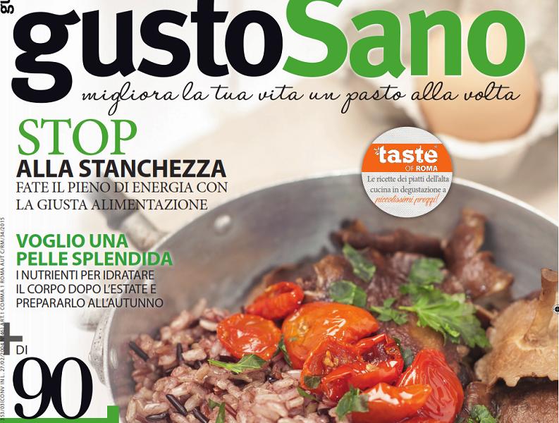 gustoSano 26 – settembre 2016