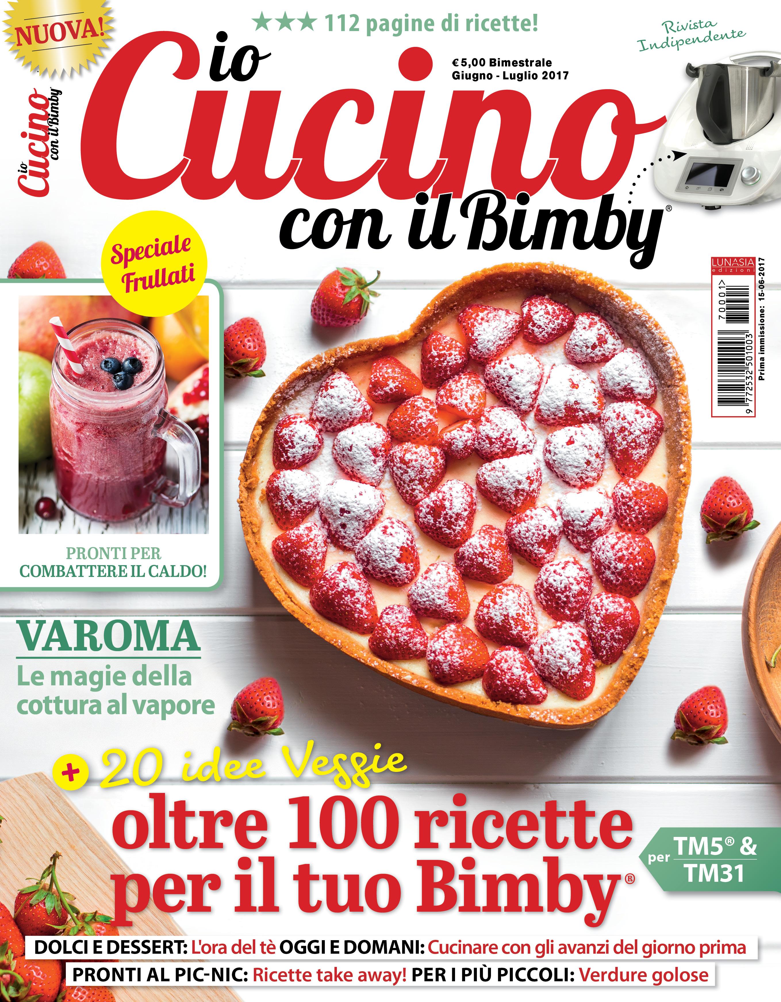 Io Cucino Con Il Bimby In Edicola Lunasia Edizioni