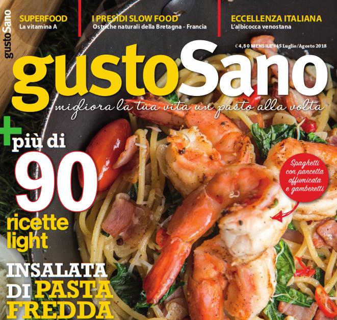gustoSano 45 – luglio/agosto 2018