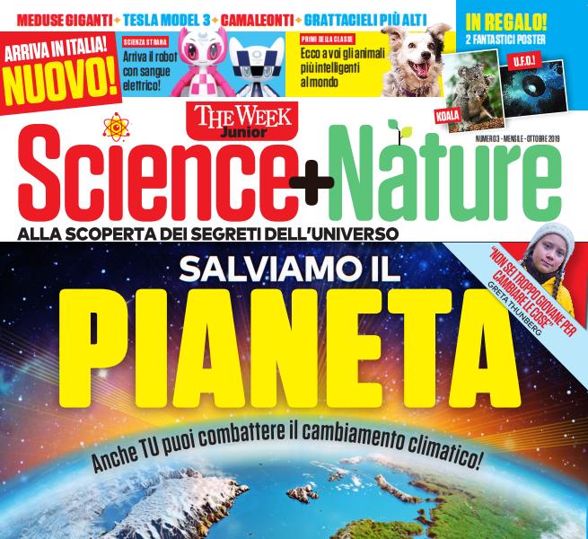 Science + Nature 3 – ottobre 2019